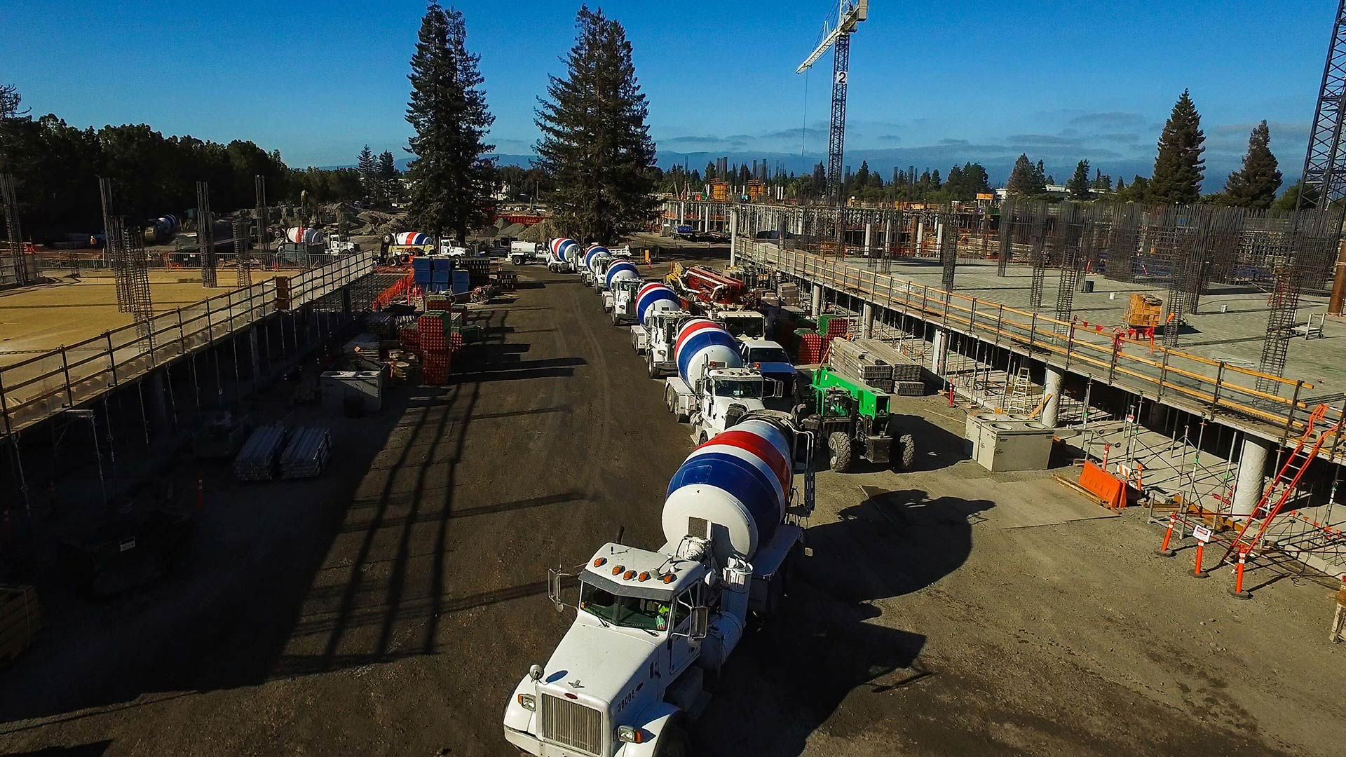 CEMEX Supplies Concrete for Cutting-Edge Silicon Valley Office Complex